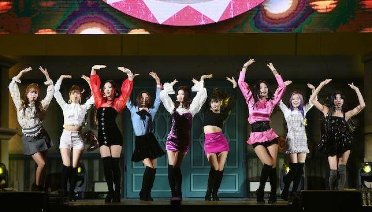 K-pop idol group TWICE. Korea Times file