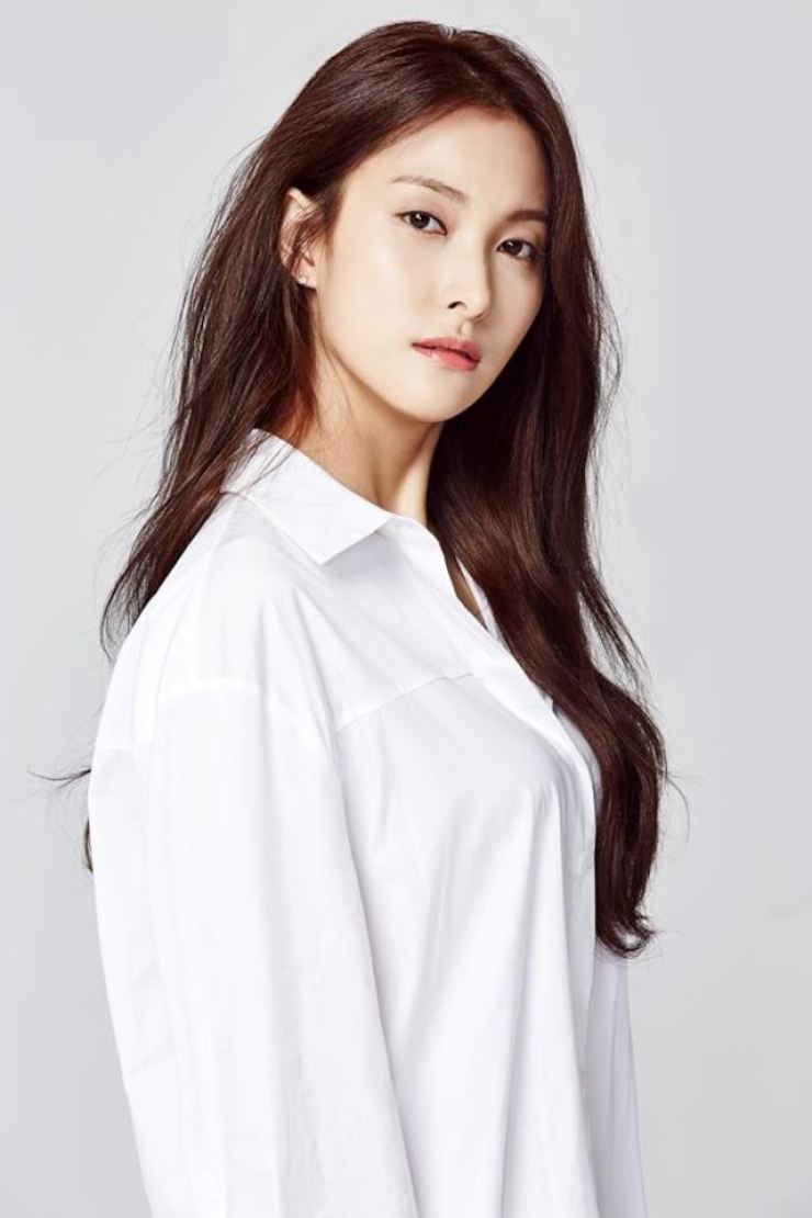 Park Gyu-ri, a former member of now-disbanded K-pop girl group KARA, has been dating the eldest grandson of Dongwon Construction's founder. /Courtesy of TheCNT.Global