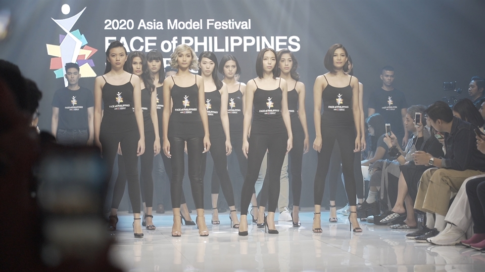 A big crowd attends the 2020 Asia Model Festival FACE of Philippines with EDGC on Thursday (local time) at the Shangri La Hotel in Manila. Korea Times photo by Kim Kang-min