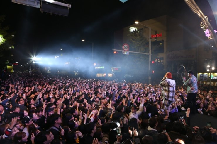 The opening concert at last year's Itaewon Global Village Festival / Courtesy of Yongsan-gu Office