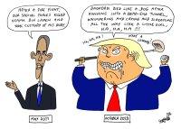 Obama vs. Trump