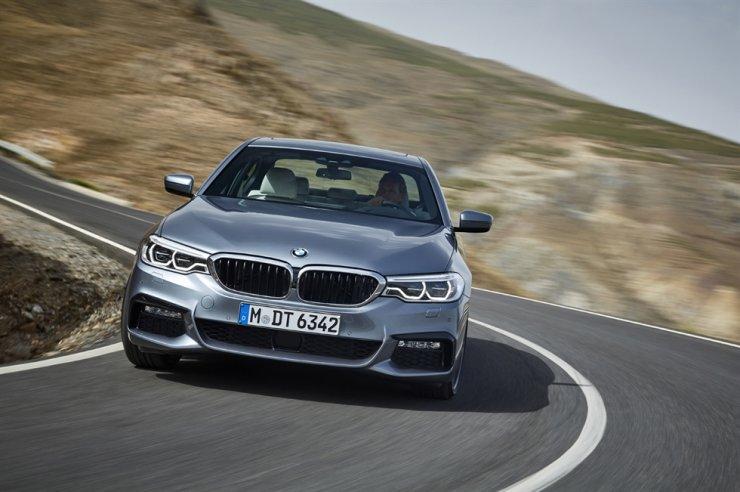 The BMW 5 Series / Courtesy of BMW Korea