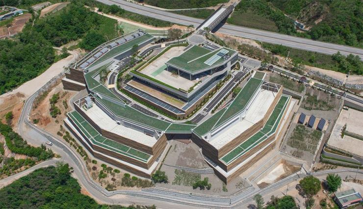 Naver's data center in Chuncheon, Gangwon Province. / Courtesy of Naver