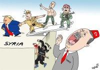 Abandoning Kurdish fighters
