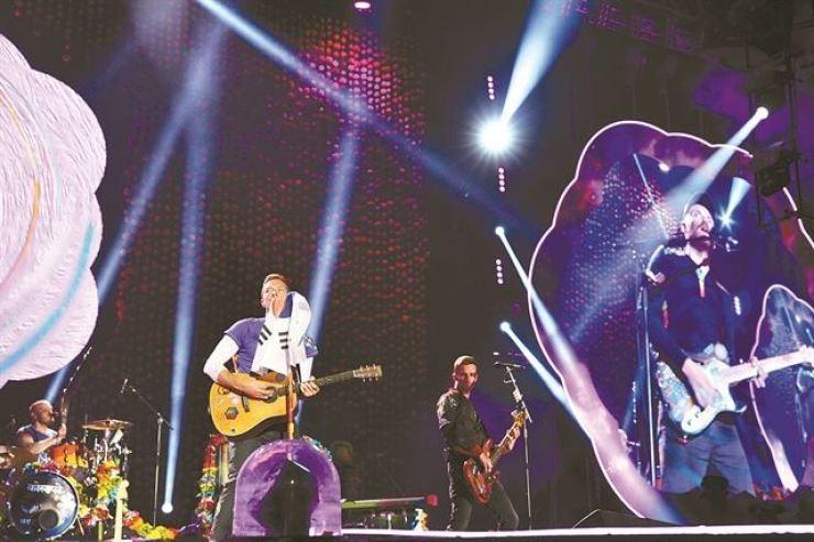 Coldplay. Courtesy of Hyundai Card