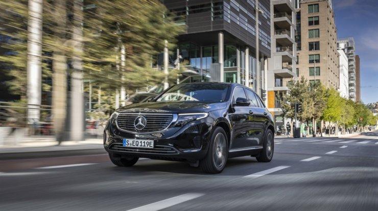 Mercedes-Benz EQC 400 4MATIC / Courtesy of Mercedes-Benz Korea