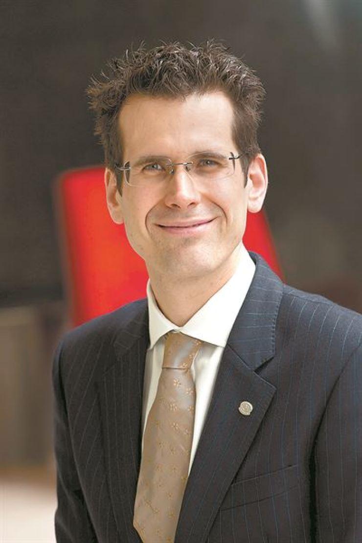 Felix Busch, general manager of Millennium Hilton Seoul
