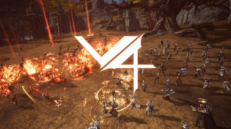A screenshot from a YouTube video shows Nexon's upcoming mobile MMORPG 'V4.' /Courtesy of Nexon