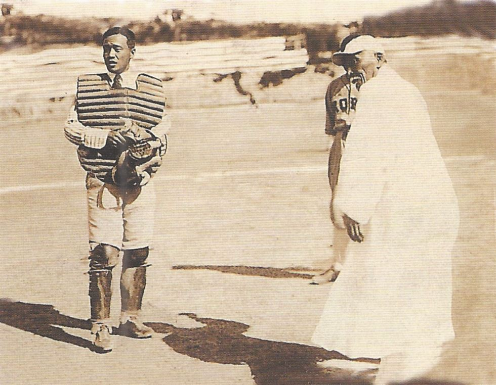 The 1951 games in Gwangju took place during the Korean War. Courtesy of Bae Soon-hak