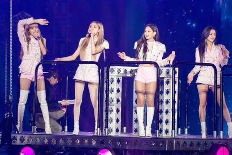 BLACKPINK in concert. Korea Times file
