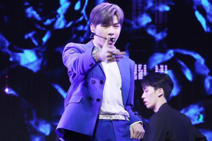 Kang Daniel /Yonhap