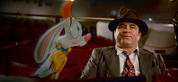 A scene from 1988 Walt Disney movie 'Who framed Roger Rabbit?' Screen capture from Youtube