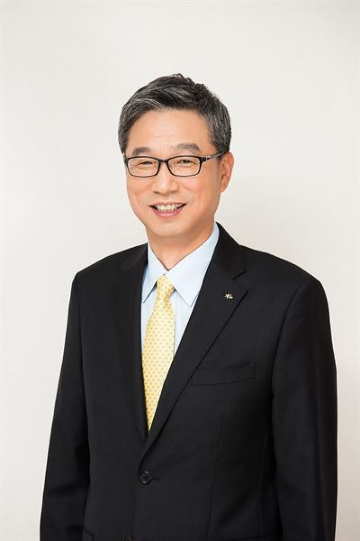 KB Kookmin Bank CEO Hur Yin