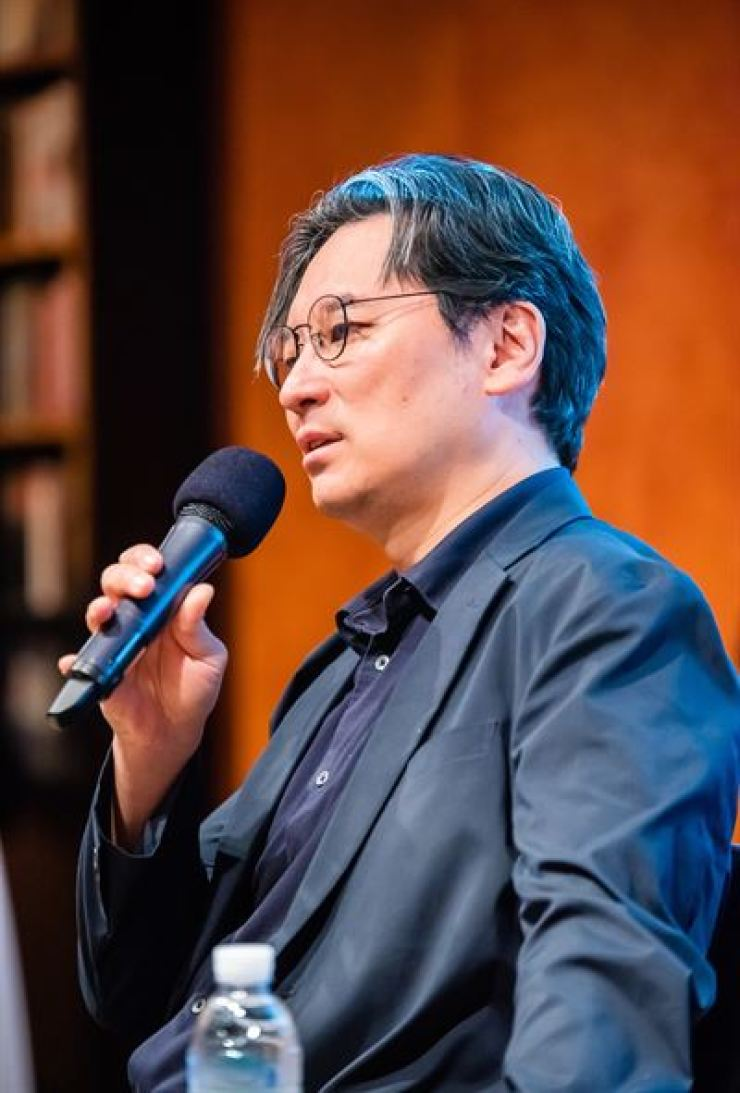 Artistic Director of Seoul International Music Festival (SIMF) Ryu Jea-joon speaks during a press conference in southern Seoul, Thursday. Courtesy of SIMF