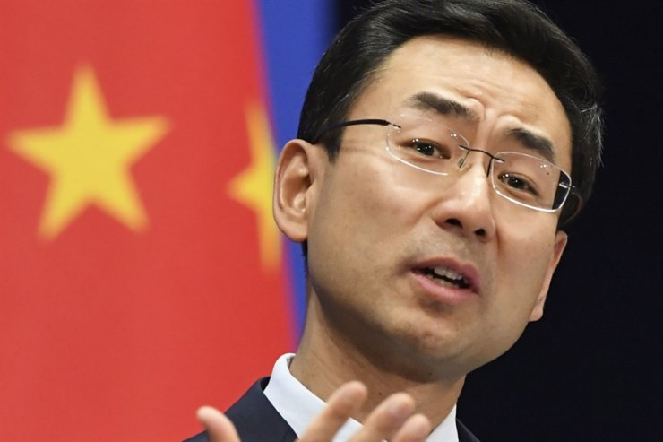 China's foreign ministry spokesman Geng Shuang. South China Morning Post