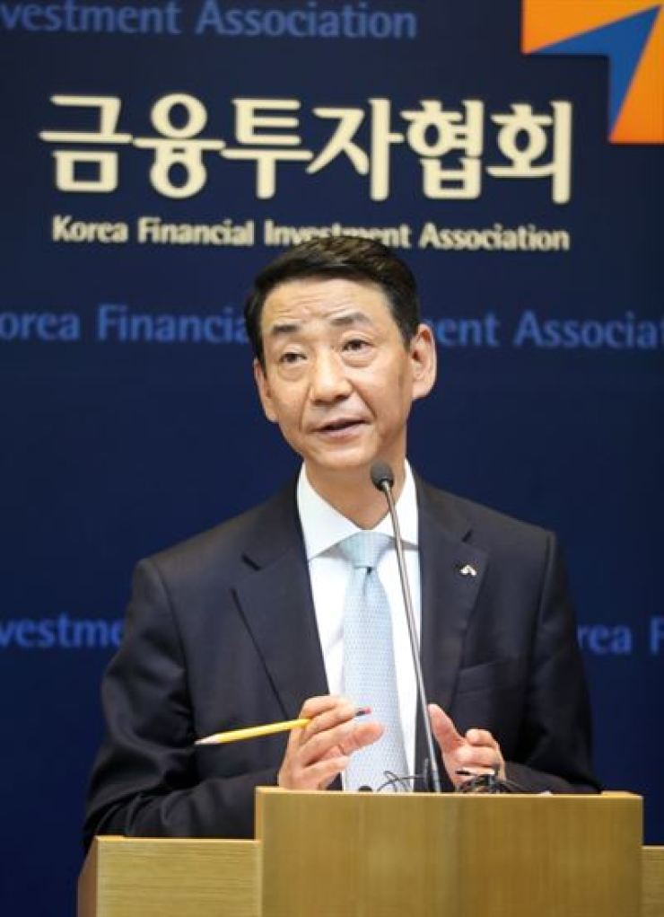 Korea Financial Investment Association Chairman Kwon Yong-won / Courtesy of Korea Financial Investment Association