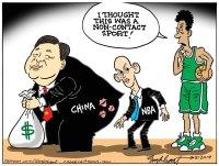 China and NBA