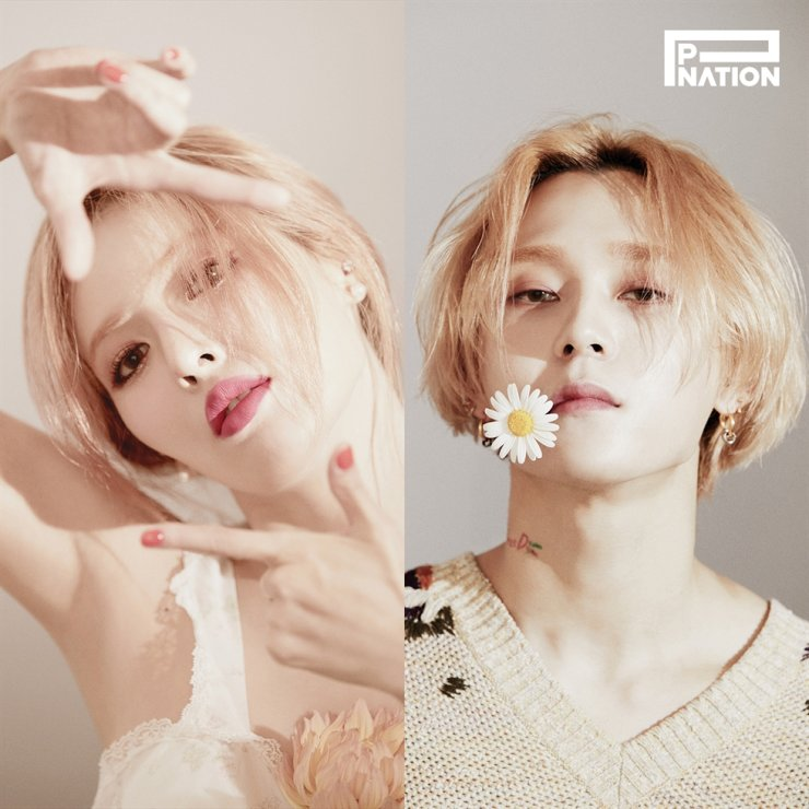 K-pop star couple HyunA and DAWN will release their individual albums on the same day, Nov 5. Courtesy of P NATION