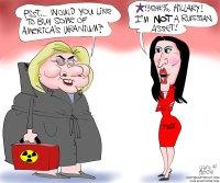 Hillary and Tulsi