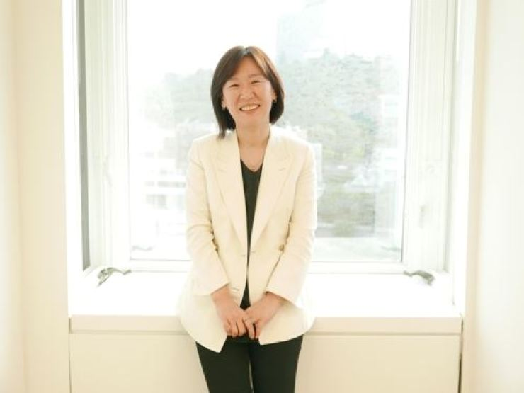 Kwak Shin-ae, the CEO of Barunson E&A. Courtesy of CJ ENM