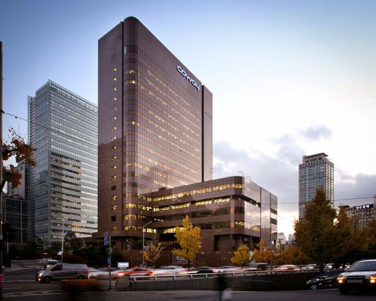 Woongjin Coway headquarters in Jung-gu, Seoul. / Courtesy of Woongjin Coway