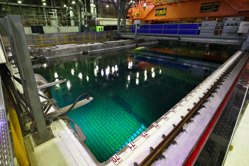 Kori Unit 1 nuclear power plant in Gijang County, Busan / Courtesy of Korea Hydro & Nuclear Power