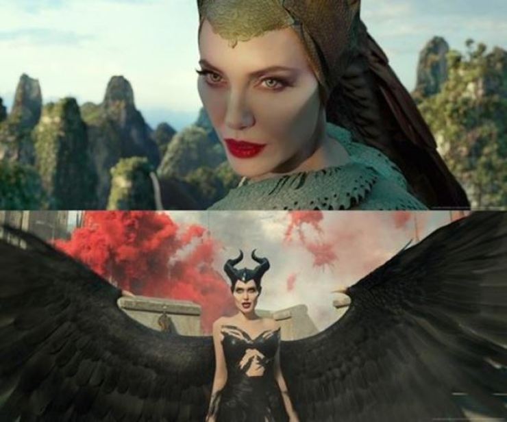 Fantasy flick 'Maleficent: Mistress of Evil' has been topping the box office since the film's release on Thursday. Courtesy of Walt Disney Company Korea
