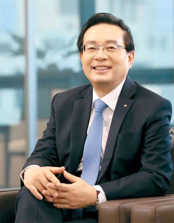 Woori Financial Group Chairman Sohn Tae-seung
