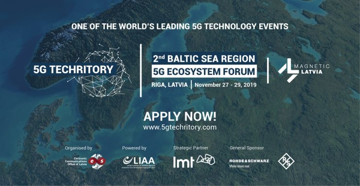 A poster of the 2nd Baltic Sea Region 5G Ecosystem Forum