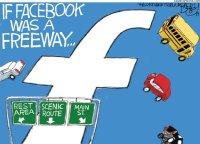 Facebook freeway