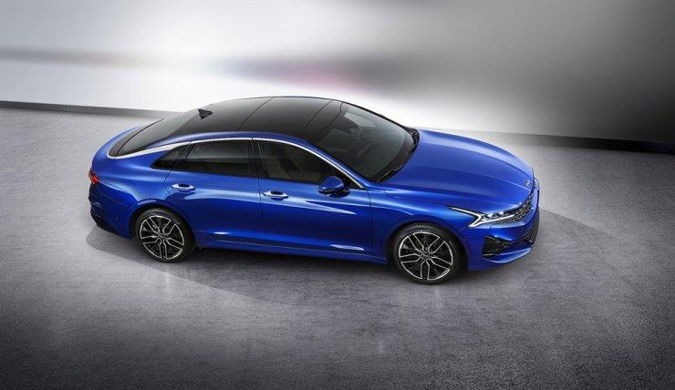 Kia Motors' new K5 sedan / Courtesy of Kia Motors