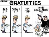 Minimum waitstaff wage