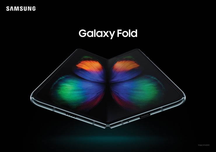 The Samsung Galaxy Fold / Courtesy of Samsung Electronics