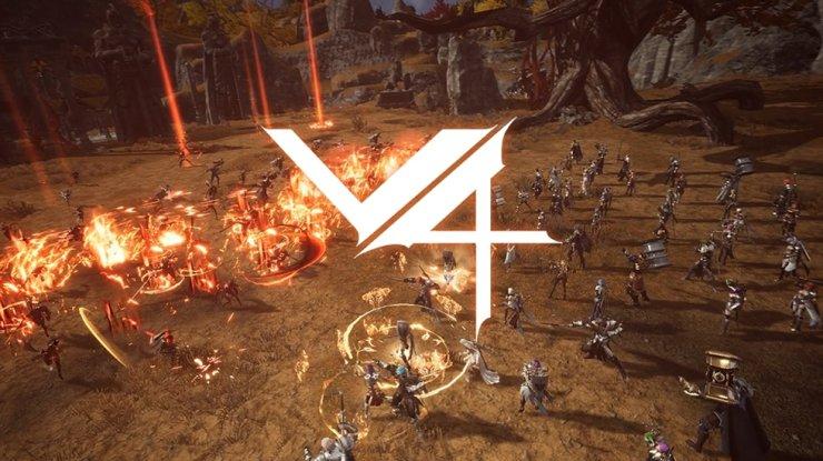 Nexon's mobile role-playing game 'V4' /Courtesy of Nexon