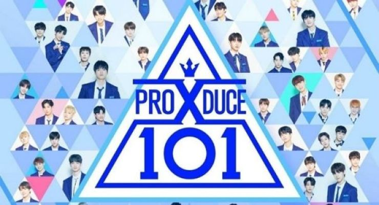 Official poster of 'Produce X 101'/ Korea Times file