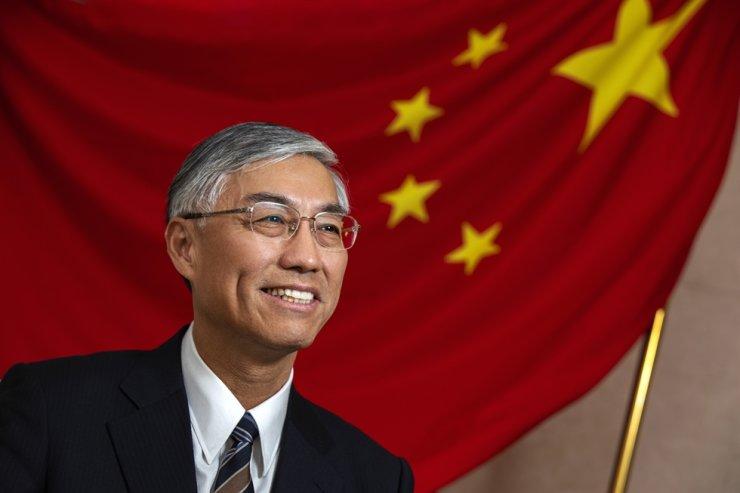 Chinese Ambassador to Korea Qiu Guohong. Korea Times photo by Shim Hyun-chul