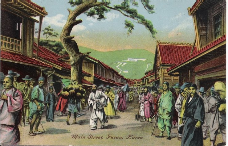 Busan in the early 1900s / Robert Neff Collection