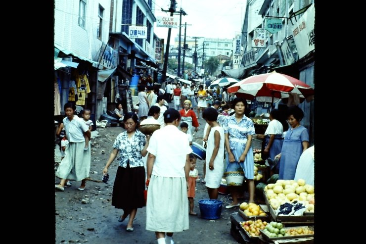 Itaewon as seen in 1969 / Courtesy of Richard Kent