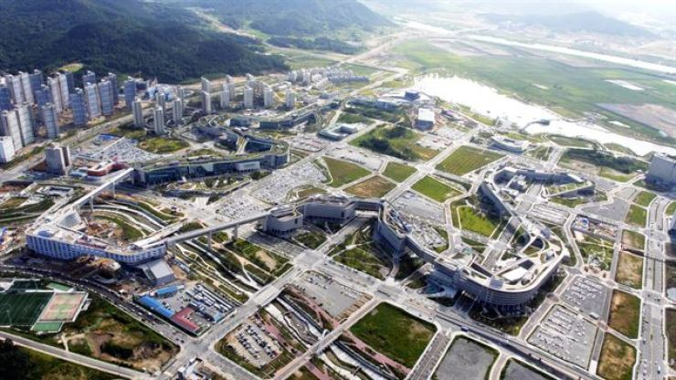 Government Complex in Sejong / Korea Times file