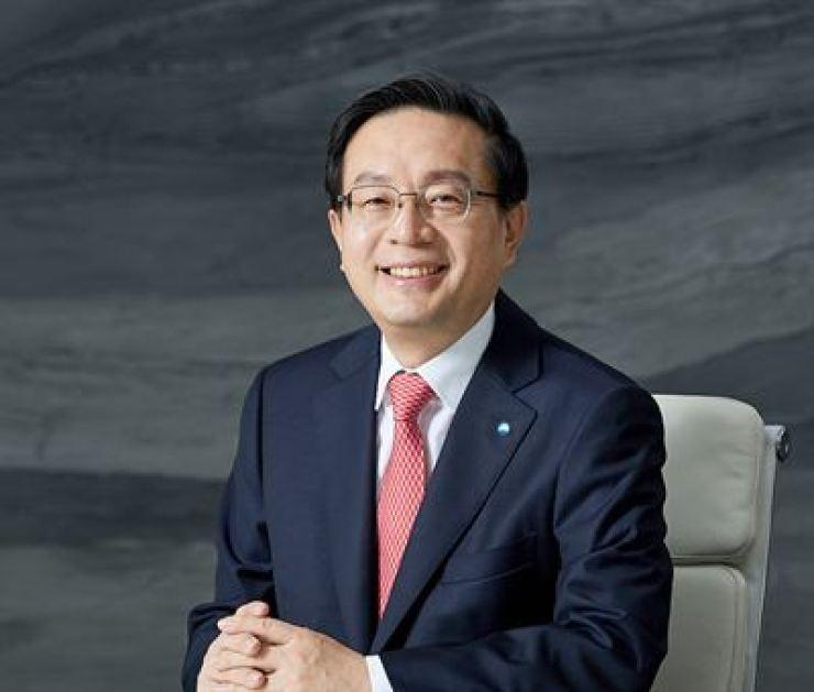 Woori Financial Group Chairman Son Tae-seung