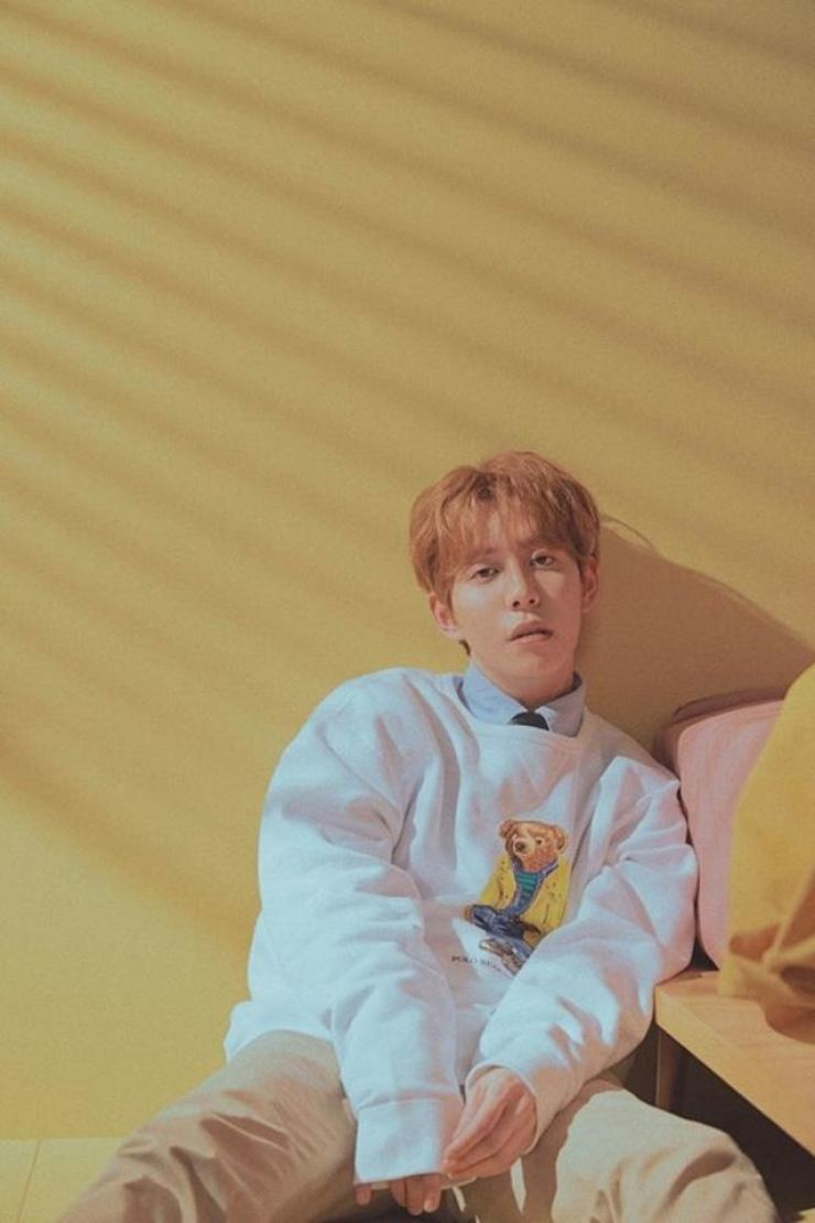 Block B member Park Kyung has been threatened with legal action. Korea Times file