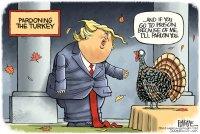 Trump pardons Turkey