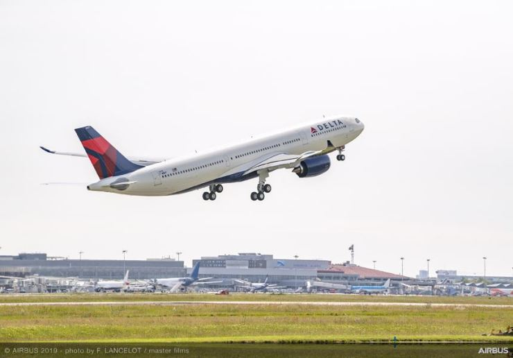 Delta Air Lines' Airbus A330-900. Courtesy of Delta Air Lines