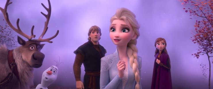 A scene from Frozen 2 / Courtesy of Walt Disney Korea