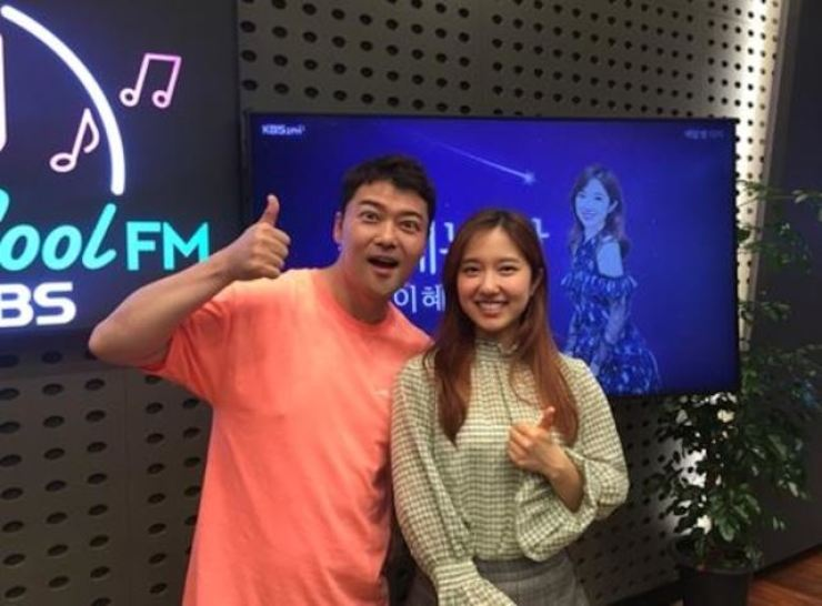 Jun Hyun-moo was invited to appear on Lee Hye-sung's radio show. Korea Times file