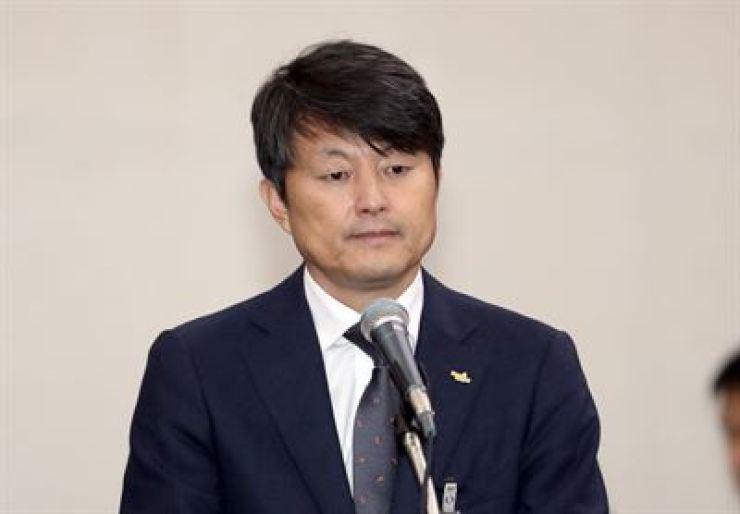 Vice Busan Mayor for Economic Affairs Yoo Jae-soo