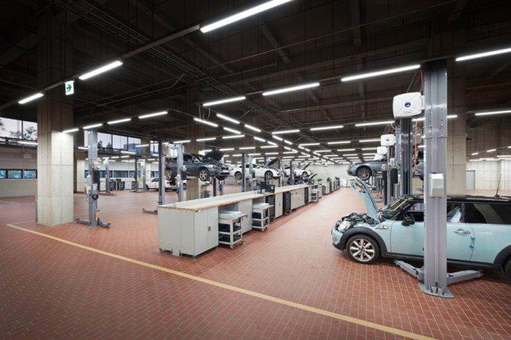 A BMW Korea service center in Incheon / Courtesy of BMW Korea