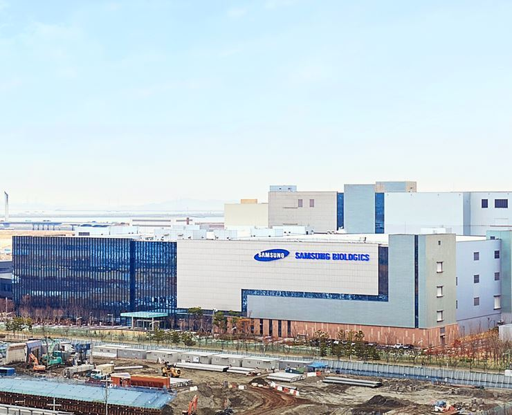 Samsung BioLogics Plant 3 in Incheon / Courtesy of Samsung BioLogics