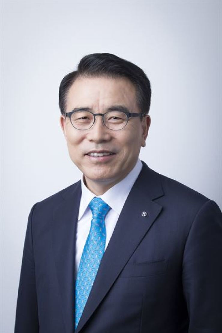 Shinhan Financial Group Chairman Cho Yong-byoung