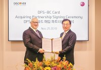 BC Card to process payments for Discover's partners